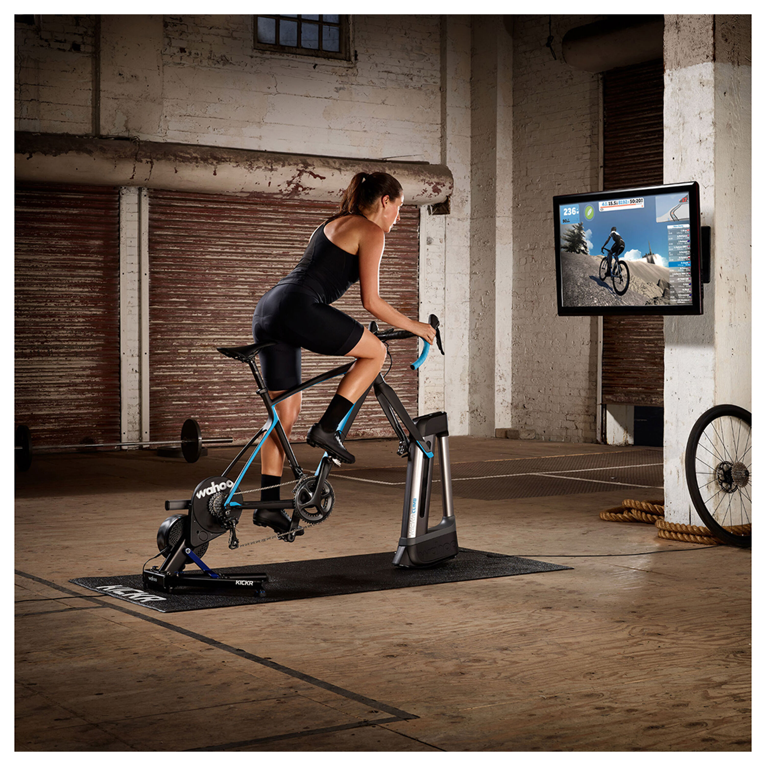 Wahoo Kickr smart trainer + Zwift membership card subscription 2019