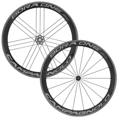 Campagnolo Bora One 50 Dark carbon wheelset for clincher tire