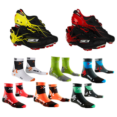 Sidi Tiger Matt Line shoes + X-Socks Biking Pro socks kit 2018