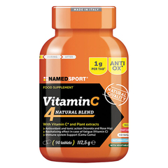 Named Sport Vitamin C 4Natural Blend dietary supplement 2018