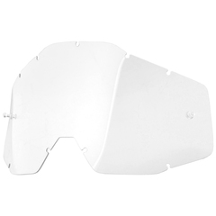 100% replacement lens for Racecraft Accuri Strata goggles