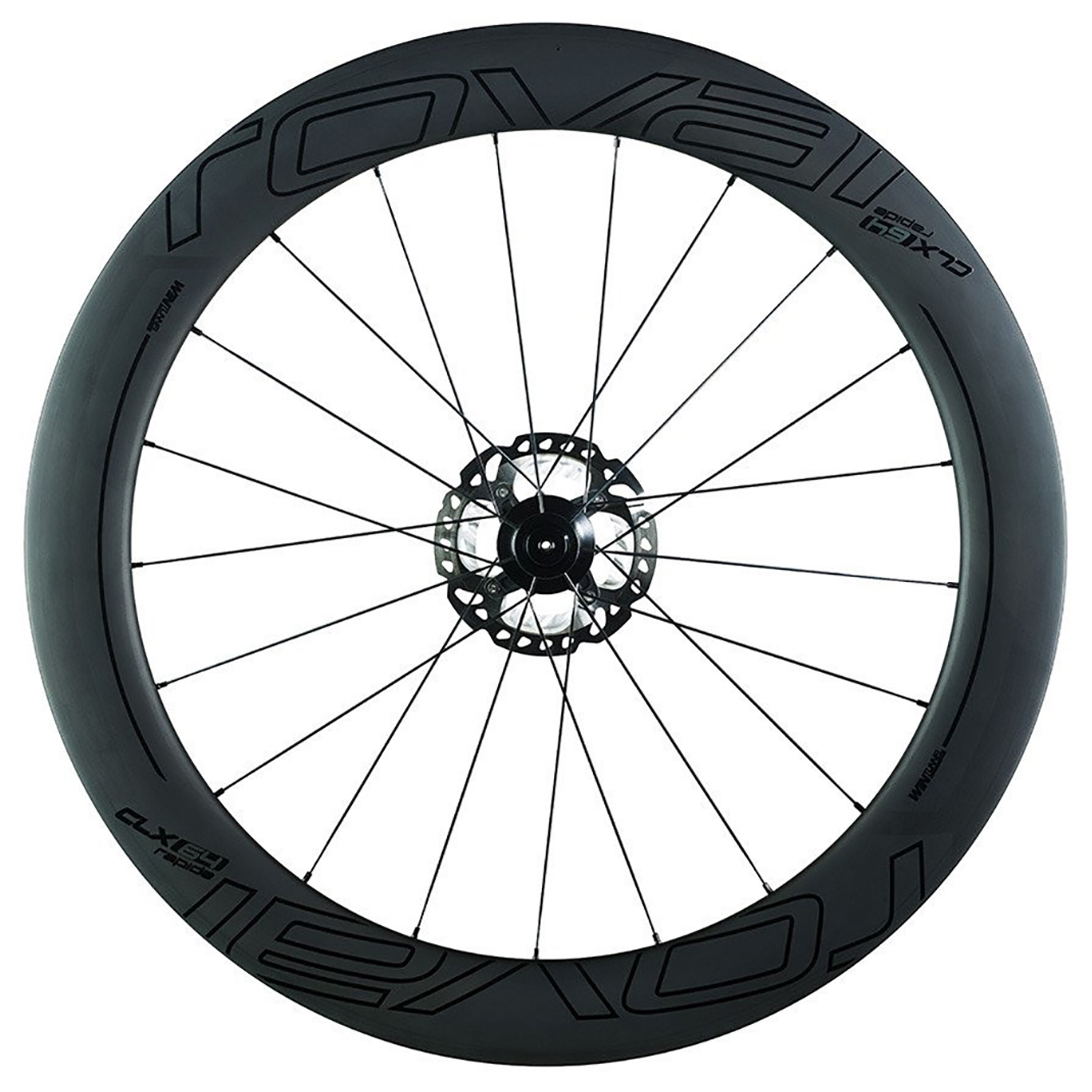 Roval Rapide CLX 64 Disc front wheel 2019