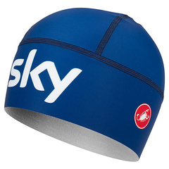 Castelli Viva Thermo Skully Team Sky skullcap 2019