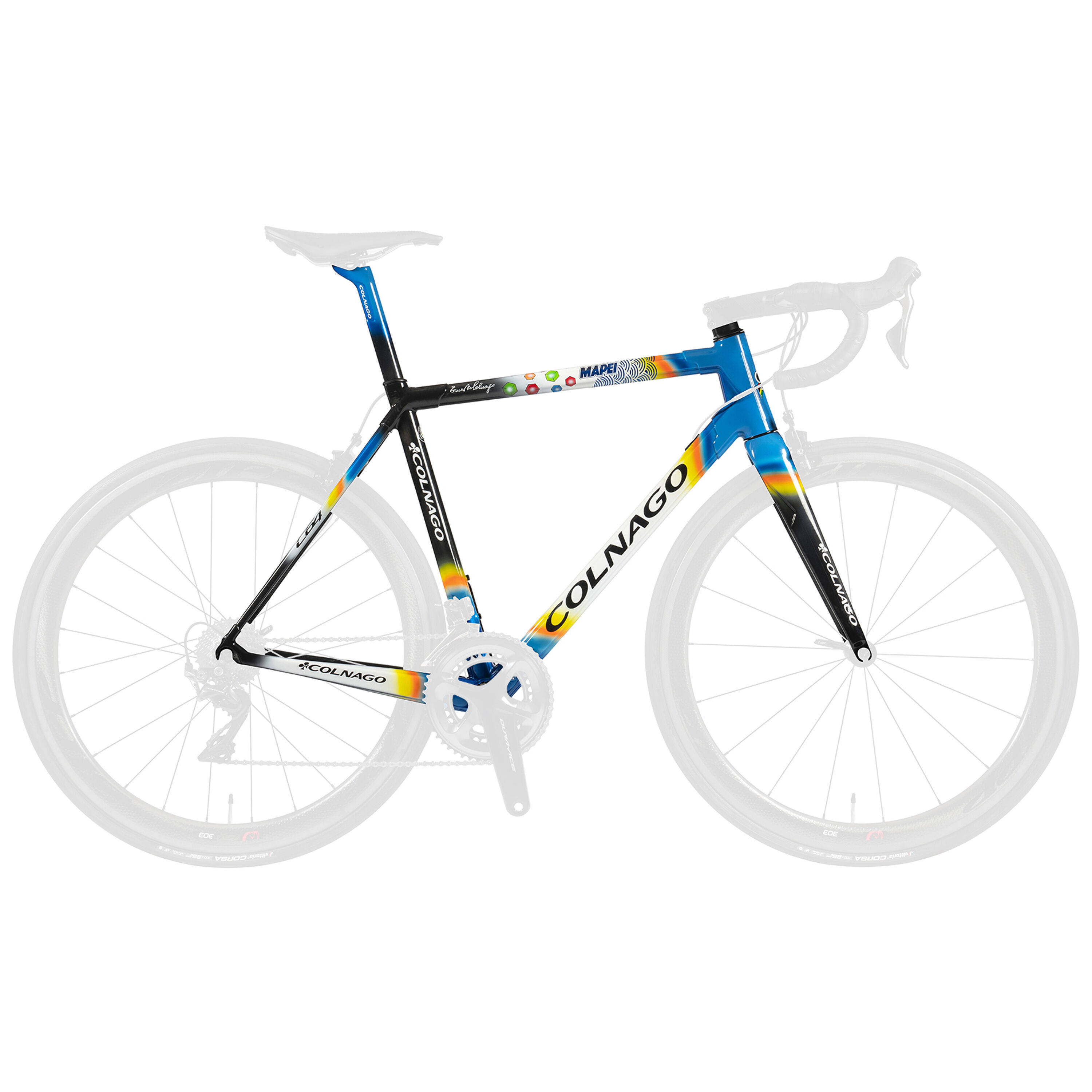 Colnago C64 Direct Mount Mapei frame 2019