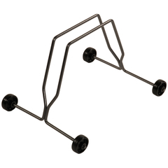 Bicisupport bicycle floor rack with wheels