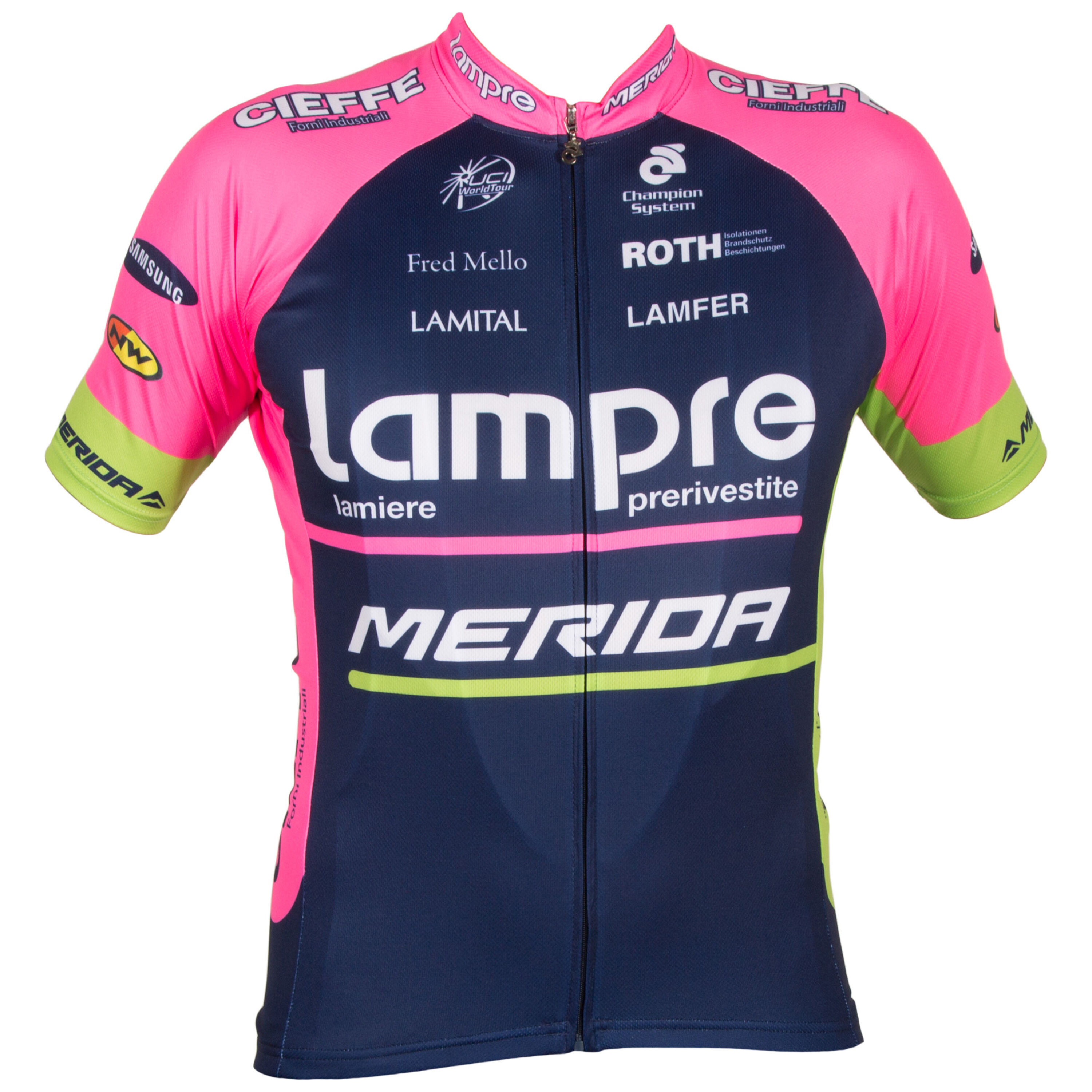 4aeb56721 Be the first to review this product. Champion System Team Lampre Merida  jersey ...