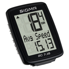 Sigma BC 7.16 wired bike computer