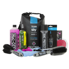 Muc-Off Team Sky Dry Bag cleaning kit 2017
